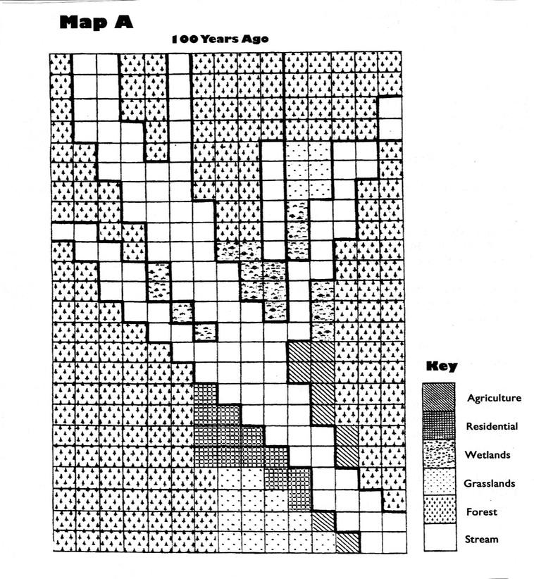 Map AColor Me a Watershed Lab – Watershed Worksheet